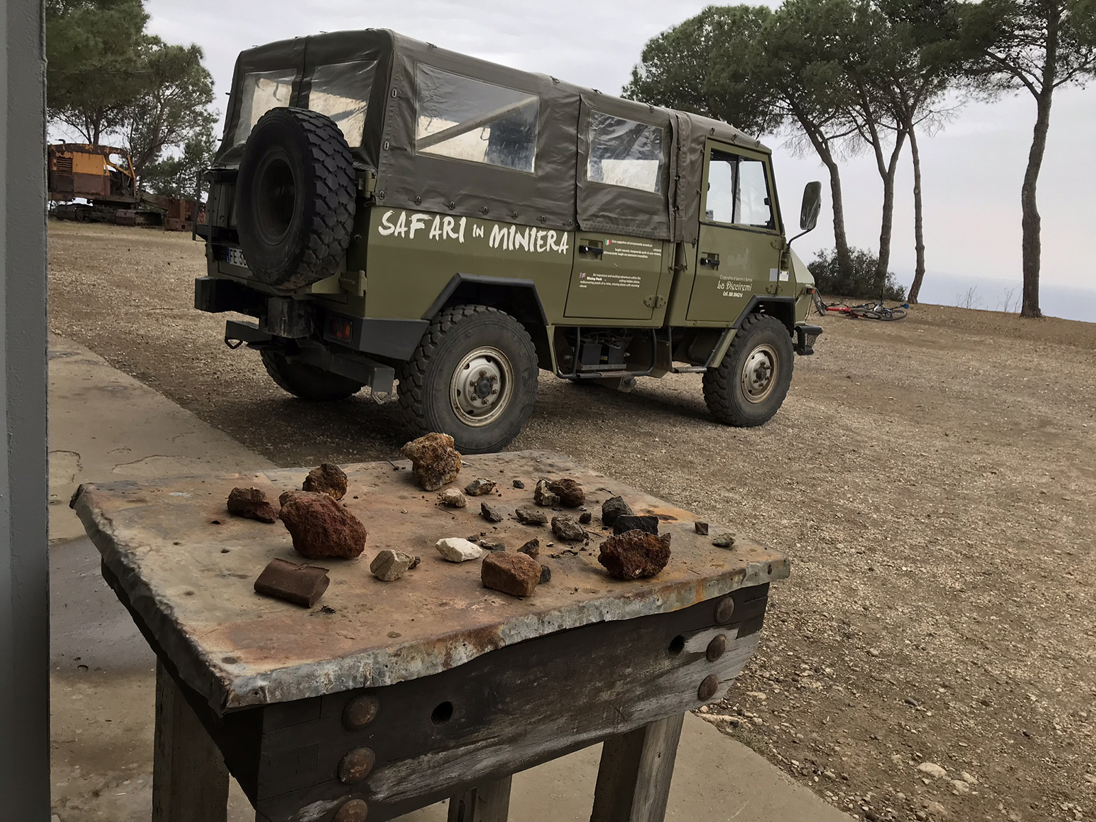 Safari in miniera Elba